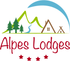 Logo du camping Alpes Lodges