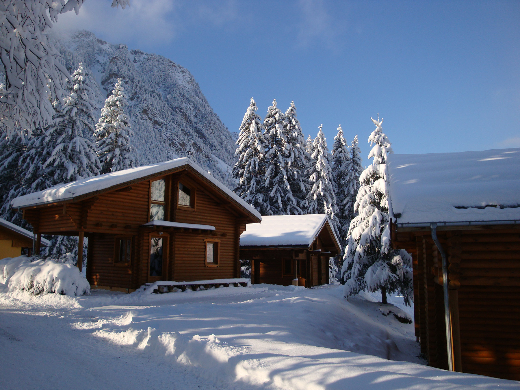 Chalet Isba hiver